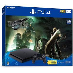 PlayStation 4 FINAL FANTASY VII REMAKE Pack(HDD:500GB)ファイナルファンタジー7 PS4 CUHJ-10035|puremiamuserekuto