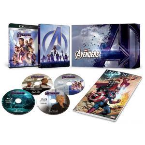 アベンジャーズ/エンドゲーム 4K UHD MovieNEXプレミアムBOX [4K ULTRA HD+3D+ブルーレイ+デジタルコピー+MovieNEXワールド] [Blu-ray]