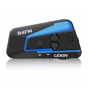 LX- B4FM バイク インカム bluetooth インターコム 4riders 同時通話 高音質 FMラジオ付き 無線機バイク 2種類マイク長時間通話 日本語説明書付き|puremiamuserekuto