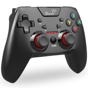 Bluetooth Switch コントローラー DinoFire プロコン HD振動 連射 ジャイロセンサー 機能搭載 任天堂 スイッチ 支持 コントローラー スプラトゥーン2 ゼルダ マ puremiamuserekuto