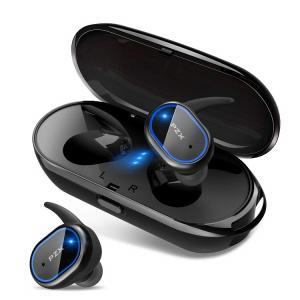 入荷次第発送。PZX Bluetooth イヤホン 自動ペアリング Bluetooth5.0 完全ワ...