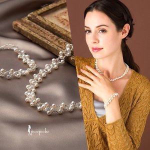 ※この商品は【ネコポス(ポスト投函)】対応商品です。   60cmのネックレスが、一瞬にしてネックレ...