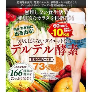 ダイエット サプリメント ダイエットサプリ サプリ 女性 男性 40代 50代 最強 コンブチャ 酵素 生酵素 最強 デルデル酵素166種+センナ