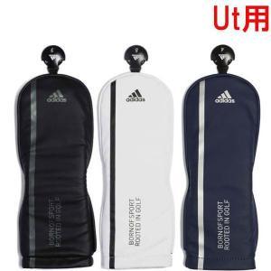 アディダスゴルフ マットPU ヘッドカバー UT ユーティリティー用 XA223|puresuto