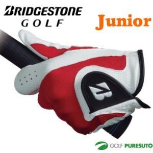ジュニア ブリヂストンゴルフ ゴルフグローブ 片手用 左手装着用 GLG55J【■B■】|puresuto
