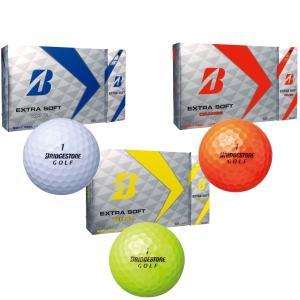 ブリヂストン エクストラソフト ゴルフボール 1ダース 2017 即納|puresuto