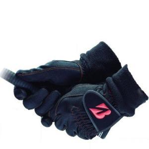 吸湿効果で+3℃の温かさ、フィット感が良いウィンターグローブ。 寒さの厳しい冬のプレーに欠かせない、...