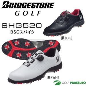 ゴルフシューズ ブリヂストン BSGスパイク ボア SHG5...