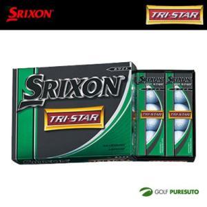 ダンロップ スリクソン TRI-STAR ゴルフボール 1ダース 12球入 DUNLOP SRIXON トライスター 【■okb■】