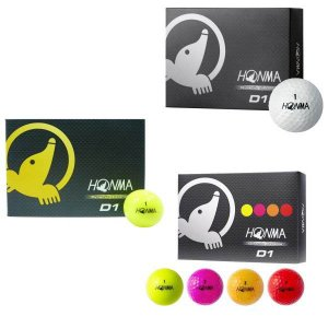 ゴルフボール 本間ゴルフ D1 1ダース 即納の商品画像