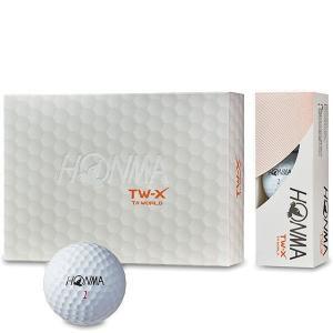 本間ゴルフ ゴルフボール ツアーワールド TW-Xボール 1ダース BT-1802|puresuto