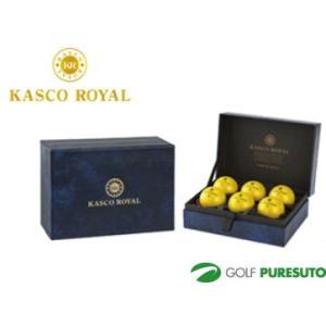 【オウンネーム】キャスコ ロイヤル 2 ゴルフボール 1箱 6球入【■Kas■】|puresuto