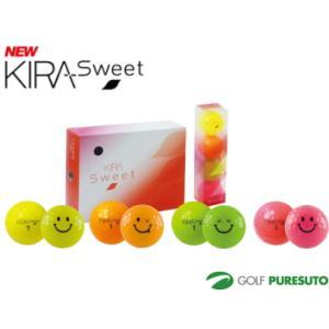 【オウンネーム】無料 キャスコ 【レディース】 キラ スウィート ゴルフボール 1ダース【■Kas■】|puresuto