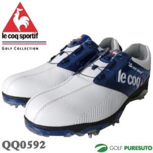 ゴルフシューズ ルコック QQ0592 ヒールダイヤル式WL...