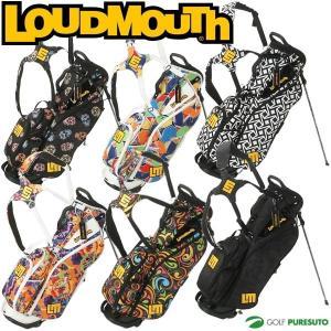 ラウドマウス スタンド式キャディバッグ 8.5型 LM-CB0007 LOUDMOUTH GOLF 即納|puresuto