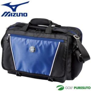 ミズノ Mizuno グローバルシリーズ ブリーフケース 5LJB162000 ブラック×ブルー(0927) 数量限定品【■M■】|puresuto