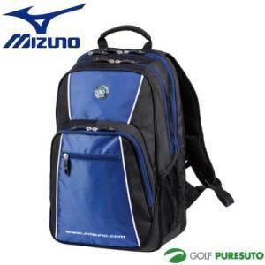 ミズノ Mizuno グローバルシリーズ バックパック 5LJB161900 ブラック×ブルー(0927) 数量限定品【■M■】|puresuto