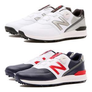 ニューバランス ゴルフシューズ D相当 ボア 日本仕様 MGB996 ダイヤル式