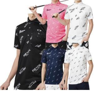 ベースにドビーで柄感を表現した吸汗速乾素材「SPASSY」を採用したグラフィックシャツ。 総柄に入っ...