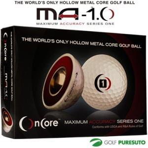 ゴルフボール OnCore MA-1.0 オンコア 1ダース...