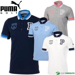 プーマゴルフ グラデーション リブ 半袖ポロシャツ メンズ ...