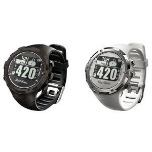 ショットナビ Shot Navi W1-GL 腕時計型 GPS ゴルフナビ  飛距離計測|puresuto