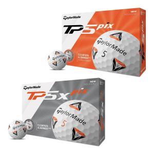 テーラーメイド ゴルフボール TP5 pix/TP5x pix 1ダース US仕様