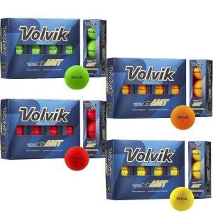 ボルビック Volvik ゴルフボール VIVID XT AMT 1ダース|puresuto