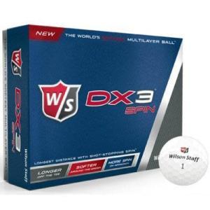 ゴルフボール ウィルソン DX3 スピン 1ダース 即納|puresuto