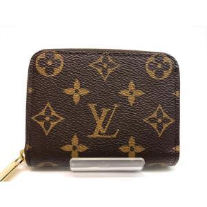LOUIS VUITTON ルイヴィトン 美品 モノグラム ジッピーコインパース コインケース 小銭入れ M60067 PVC レザー レディース メンズ 7731|purishonten