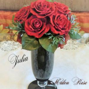 ジュリア プリザーブドフラワー 母の日 誕生日の花 ギフト 送料無料 バラ ダリア