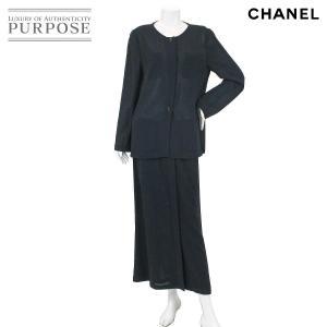 シャネル CHANEL スカート スーツ セットアップ 長袖...