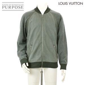 ルイヴィトン LOUIS VUITTON レザー ジャケット...