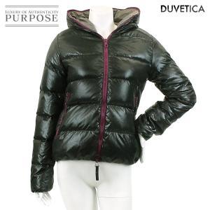 デュベティカ DUVETICA ダウンジャケット 中綿 ブラック サイズ 40 レディース|purpose-inc