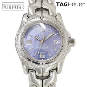 タグホイヤー TAGHeuer リンク WT131B レディース 腕時計 ブルーシェル 文字盤 デイト クォーツ ウォッチ|purpose-inc