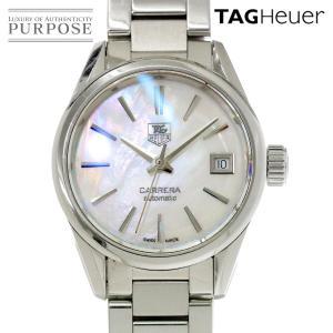 タグホイヤー TAG HEUER カレラ WAR2411 BA0776 レディース 腕時計 ホワイトシェル 文字盤 自動巻き オートマ ウォッチ|purpose-inc