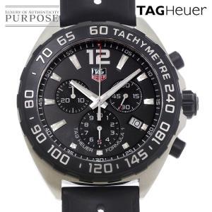 タグホイヤー TAG Heuer フォーミュラ1 クロノグラフ CAZ1110 メンズ 腕時計 デイト ブラック 文字盤 クォーツ ウォッチ|purpose-inc