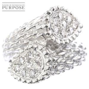 ダイヤ 0.55ct K18WG リング 12号 18金ホワイトゴールド ダイア 指輪 purpose-inc