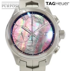 タグホイヤー TAG HEUER リンク クロノグラフ 日本限定350本 CAT2014 メンズ 腕時計 デイト ブラックシェル 文字盤 オートマ 自動巻き ウォッチ|purpose-inc