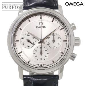 オメガ OMEGA De Ville デビル プレステージ 手巻き 4540 31 メンズ 腕時計 シルバー 文字盤 ウォッチ|purpose-inc