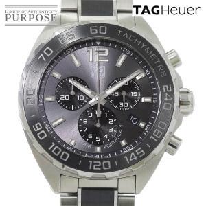 タグ ホイヤー TAG Heuer フォーミュラ1 CAZ1111 メンズ 腕時計 デイト クロノグラフ グレー 文字盤 クォーツ ウォッチ|purpose-inc