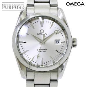 オメガ OMEGA シーマスター アクアテラ 2518 30 メンズ 腕時計 デイト シルバー 文字盤 クォーツ ウォッチ purpose-inc