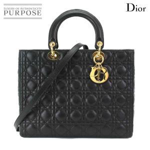 クリスチャン ディオール Chiristian Dior レディディオール 2way ハンド ショル...