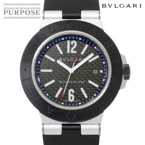 87adec2a5268 ブルガリ BVLGARI アルミニウム AL44TA メンズ 腕時計 ブラック 文字盤 デイト オートマ 自動巻き ウォッチ. 118,000円. 中古