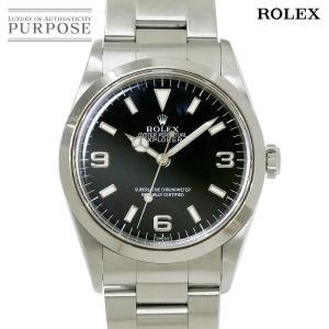 65d5060b5b ロレックス ROLEX エクスプローラ1 14270 U番 メンズ 腕時計 ブラック 文字盤 オート.