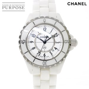 15a6743929 シャネル CHANEL J12 33mm H0968 レディース 腕時計 ホワイト セラミック デイ.