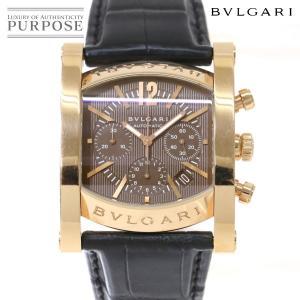 ブルガリ BVLGARI アショーマ クロノグラフ  AAP48GCH メンズ 腕時計 世界限定99...