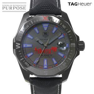 タグホイヤー TAG HEUER アクアレーサー ファントム ワンピース コラボ メンズ 腕時計 W...