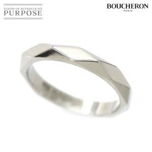 ブシュロン ファセット リング #48 PT950 プラチナ 指輪 BOUCHERON