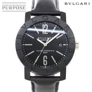 ブルガリ BVLGARI ブルガリブルガリ BB40CL メンズ 腕時計 デイト ブラック 文字盤 ...